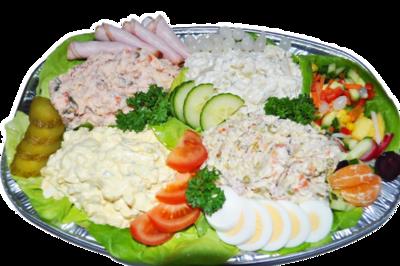 Saladeschotel allerlei per persoon
