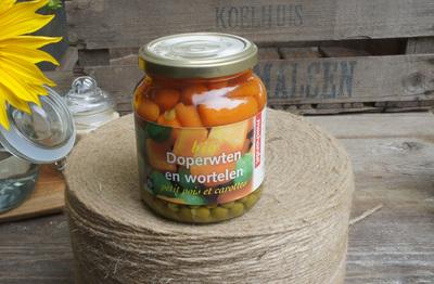 Doperwten en wortel (350g)