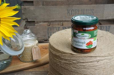 Bio zongedroogde tomaten (190g)