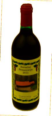 Borselse Zwarte bessen wijn