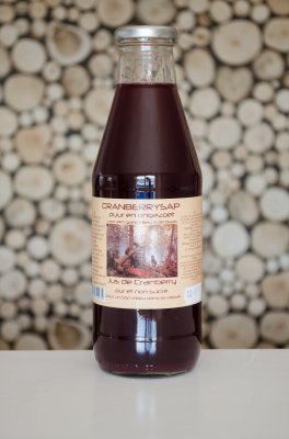 Cranberrysap (750 ml) DCG