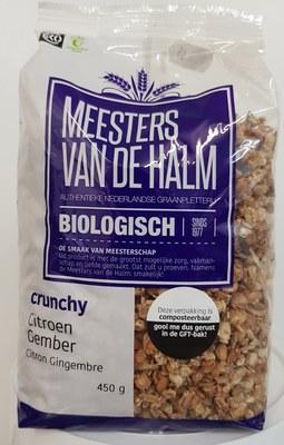 Crunchy Citroen-Gember BIOLOGISCH