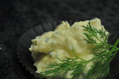 Ei-bieslooksalade (150 gr)