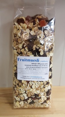 Fruitmuesli 'cranberry'