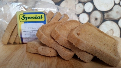 Glutenvrij brood Bruin (400 gr)