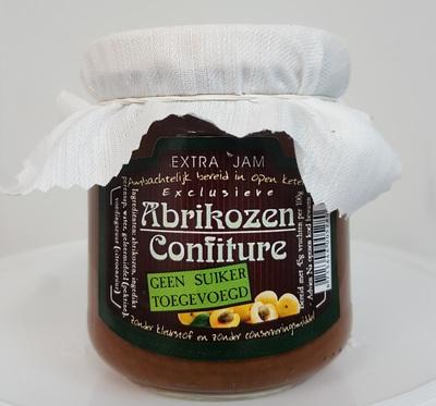 Confiture 'Abrikoos SUIKERVRIJ'