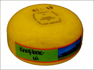 Knoflook-ui kilobolletje