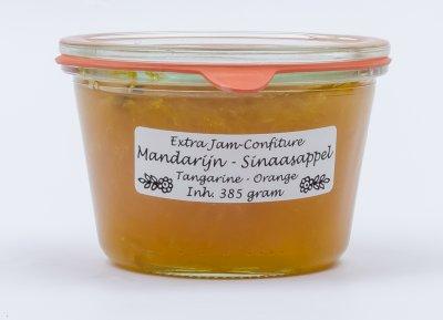 Mandarijn - sinaasappel jam (385 gr)