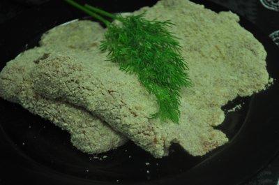 Gepaneerde schnitzel (150 gram)