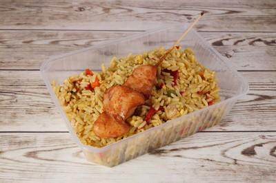 Nasi met kippenvlees  -Tante Door-