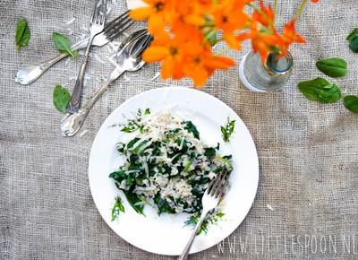 Recept: Risotto met spinazie