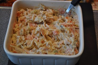 Schotse Zalmsalade (150 gram)