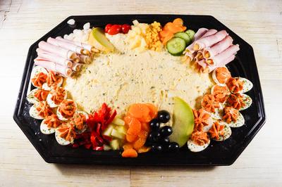 Scharrelei Salade (18 personen)