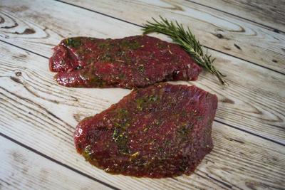 Steak (groene marinade)